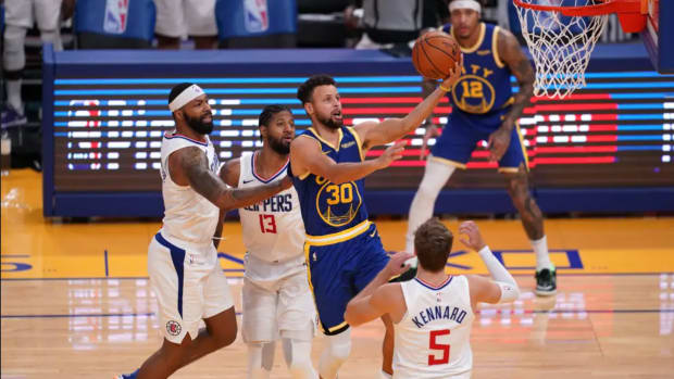 """Paul George Reacts To Golden State Warriors Beating Los Angeles Lakers On Opening Night: """"They Move The Ball. It's Scary. Steph Didn't Shoot It Well, And They Still Win."""""""