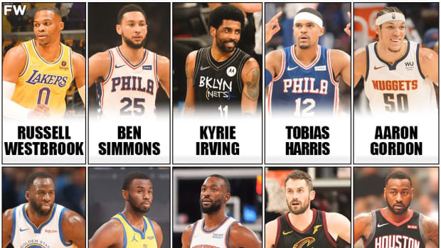 10 Most Overrated NBA Players Today: Russell Westbrook, Ben Simmons And Kyrie Irving Aren't Impactful Enough