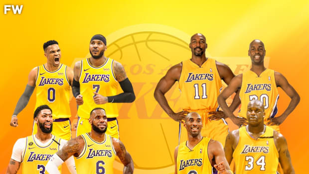 """Paul Pierce Compares 2022 Lakers With Carmelo Anthony And Russell Westbrook To 2004 Lakers Squad: """"This Team Is Really Giving Me That Karl Malone Garry Payton, When They Were With Kobe, That Kind Of Feel."""""""