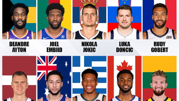NBA Rosters Will Have 109 International Players From 39 Countries: Giannis, Luka, Jokic, And Embiid Lead The List