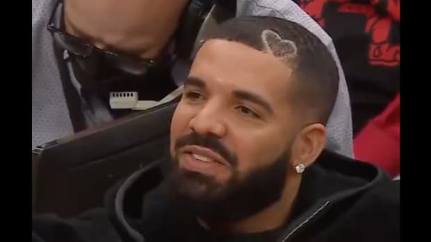 Montrezl Harrell Goes At It With Drake During Raptors Blowout Loss