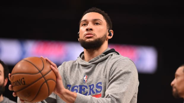 """Philadelphia Sixers Fans Trash Ben Simmons After He Refuses To Practice On Wednesday: """"Just Trade This Dude Already"""""""