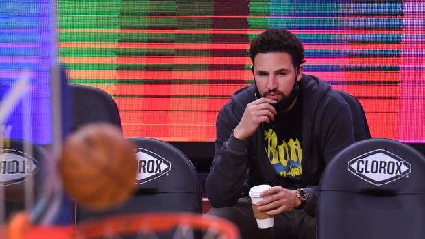 """Klay Thompson Is Still Mad After Top 75 All-Time List Snub: """"Still Pissed About This Stupid A** List. Ga Damn I Can't Wait To Hoop Again. Sick Of The Disrespect."""""""