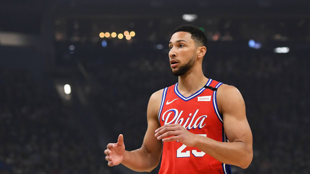 """Ben Simmons After His NBA Debut: """"It Felt Like I Was Playing 2K"""""""