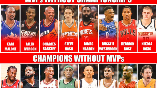 MVPs Without Championships vs. Champions Without MVPs: Which Players Were Better?