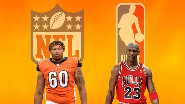"""NFL Star Michael Jordan Shares The Story On Having The Same Name As NBA Legend Michael Jordan: """"You Can't Be Playing Around With Fake Names Like That"""""""
