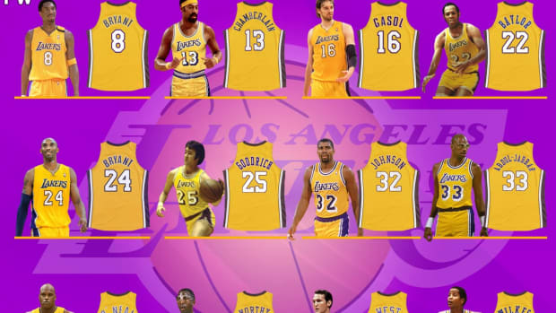 Los Angeles Lakers Retired Numbers: NBA Legends And Superstars Wore Purple And Gold