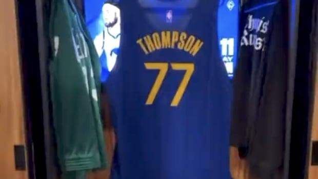 Klay Thompson No. 77 Jersey