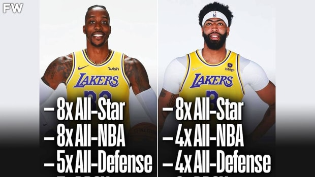NBA Fans Argue Dwight Howard Should Have Been Selected Over Anthony Davis On NBA 75 List