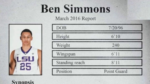 Ben Simmons pre-draft