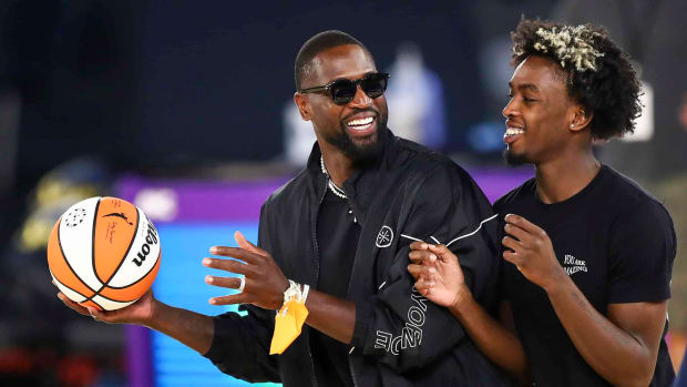 LeBron James Defends Dwyane Wade's Son Zaire From Haters