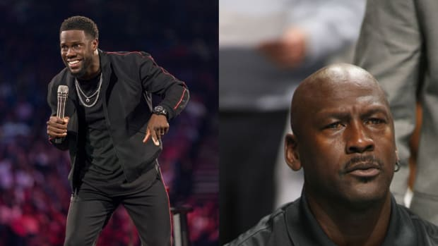 """Kevin Hart Pissed Off Michael Jordan At Charity Event: """"He Shook My Hand And Squeezed It Real Hard, And He Was Like, 'You Have A Good Day'. I Ain't Seen Him Since."""""""