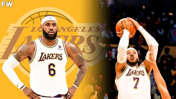LeBron James Reacts To Carmelo Anthony Saving The Lakers Against Grizzlies