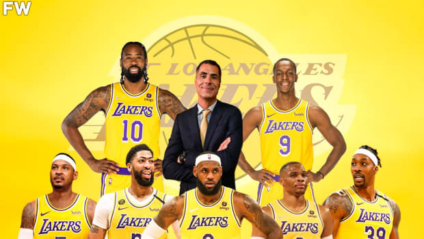 """Rob Pelinka Gave Warning To The 2021-22 Los Angeles Lakers Before The Season: """"This Room Has The Greatest Basketball Talent Assembled... But Without Mindset, That Amounts To Jack Sh*t."""""""