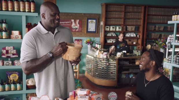 Kendrick Lamar Used Shaquille O'Neal's Head As A Backboard In Hilarious Commercial