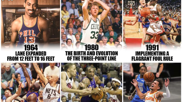 11 Important Rules That Changed NBA Basketball Forever: Banning Hand-Checking, Allowing Zone Defense After Banning It