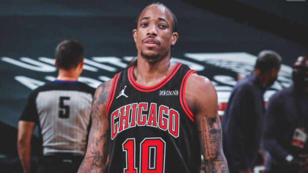 """DeMar DeRozan On Why His Free Throws Remain Unaffected Even After The New Rules: """"I Don't Flop"""""""