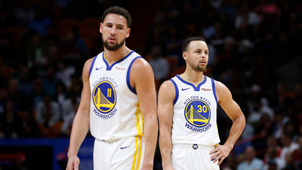 Stephen A. Smith Says Warriors Would Beat Lakers In Playoffs With Healthy Klay Thompson