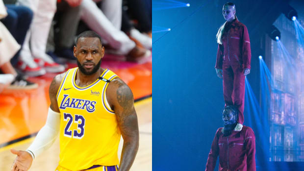 """LeBron James Reacts After Iman Shumpert Gets Perfect Score On Dancing With The Stars: """"Man, My G Iman Shumpert In His F'n bag!"""""""