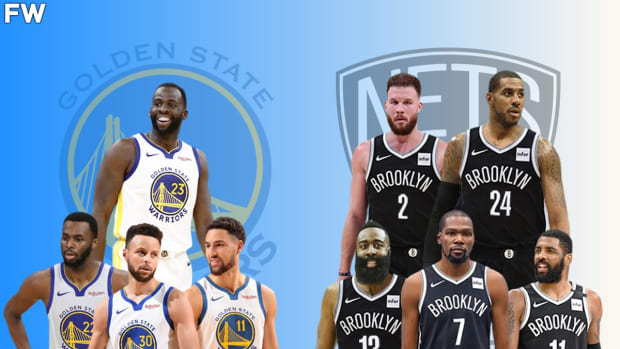 Stephen A. Smith Says The Brooklyn Nets With Kyrie Are The Only Team That Can Beat Golden State Warriors