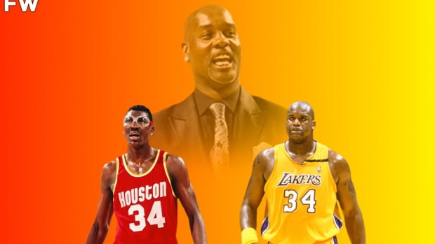 """Gary Payton Says Hakeem Olajuwon Was A Way Better Player Than Shaquille O'Neal: """"Shaq Couldn't Guard The Dream... The Dream Had A Lot Of Shake-N-Bake"""""""