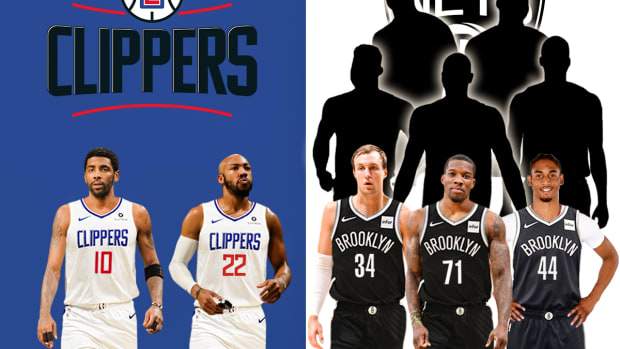 Bleacher Report Suggests A Panic Trade The Nets Could Do: Kyrie Irving To Los Angeles Clippers For 3 Players And 5 picks