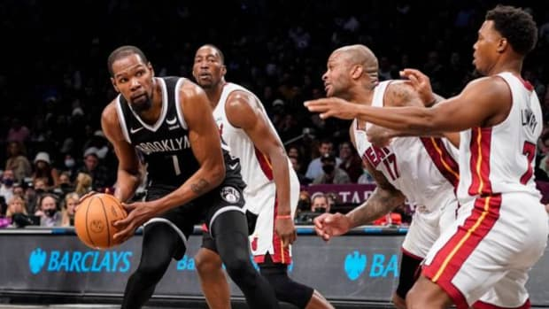 """PJ Tucker Lauds The Miami Heat's Mentality: """"I Can Be On KD Then Bam Will Switch And I'm Like Cool, Then Jimmy Will Switch And I'm Like Cool, Then Kyle Will Switch And I'm Like Cool. We Can Yell At Each Other Then Go Out There And Play And Be Good."""""""