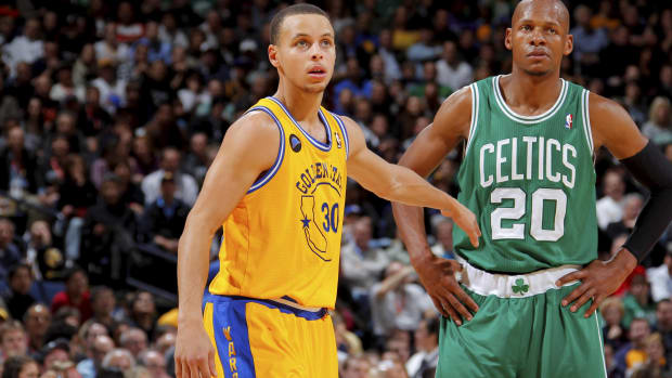 Steph Curry Would Have A Higher Three-Point Percentage Than Ray Allen Even If He Missed His Next 500 Threes