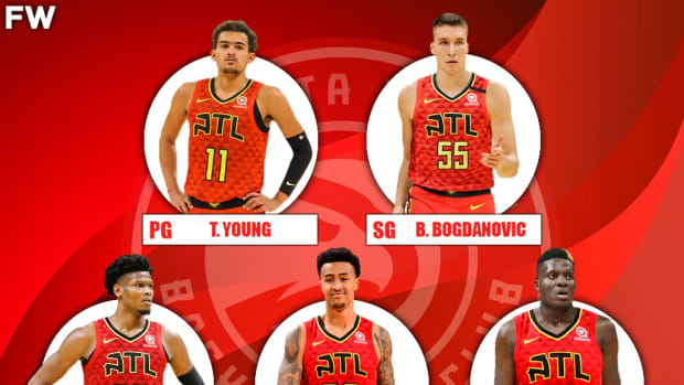 The 2020-21 Projected Starting Lineup For The Atlanta Hawks