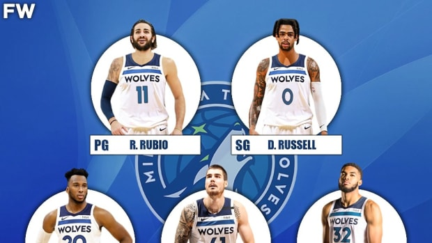 The 2020-21 Projected Starting Lineup For The Minnesota Timberwolves