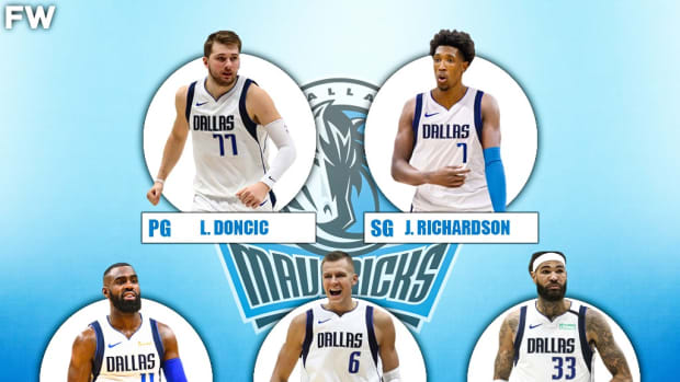 The 2020-21 Projected Starting Lineup For The Dallas Mavericks