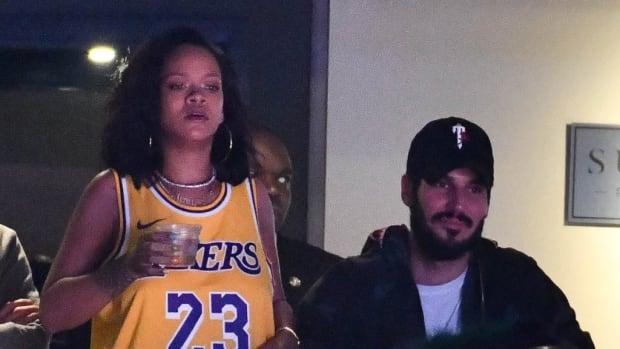 Rihanna Roasts Josh Hart After LeBron James Dunks All Over Him