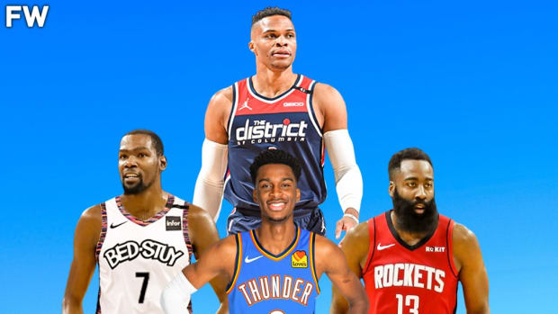 Oklahoma City Thunder Currently Have A Better Record Than Teams Lead By Durant, Westbrook, And Harden