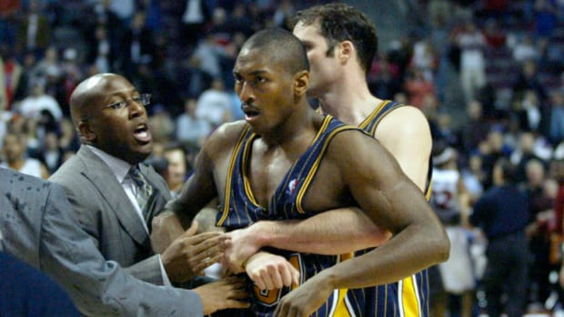"""Metta World Peace Recalls The Infamous Malice In The Palace Incident: """"It Was The Tension, You Could Feel It Before, In Warmups."""""""