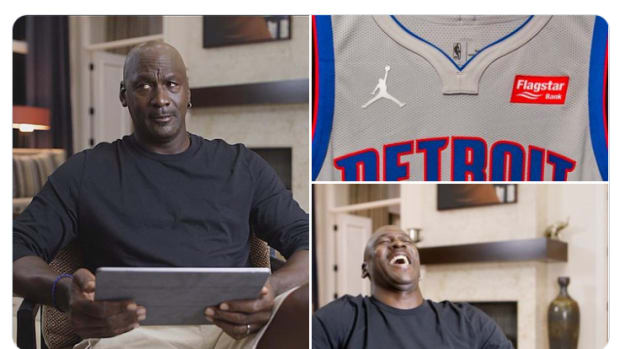 Detroit Pistons Fans Are Extremely Mad About Having Jordan Logo On Their Jersey