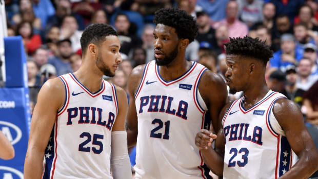 """Philadelphia 76ers Owner: """"Joel Embiid 'Our Most Important Player. He's Clearly Our Future"""""""