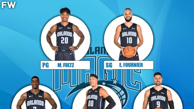 The 2020-21 Projected Starting Lineup For The Orlando Magic