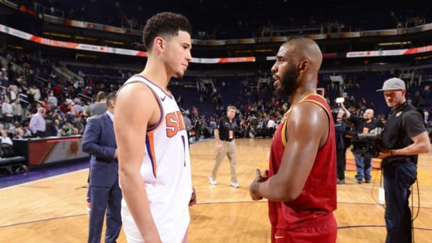Seven Years Ago, Devin Booker Received An Invitation For Chris Paul's Camp. Now They're Teammates.