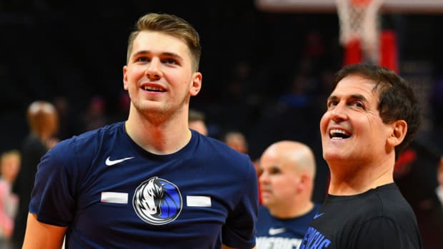 "Mark Cuban On How Far He'd Go To Keep Luka Doncic On The Dallas Mavericks: ""If I Had To Choose Between My Wife And Keeping Luka On The Mavs. Catch Me At My Lawyer Office Preparing For A Divorce"""