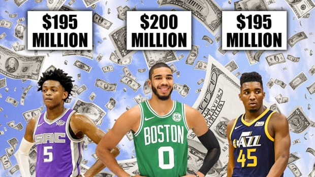 2017 Draftees De'Aaron Fox, Jayson Tatum And Donovan Mitchell Have All Secured Max Extensions