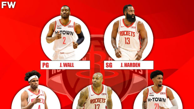 The 2020-21 Projected Starting Lineup For The Houston Rockets