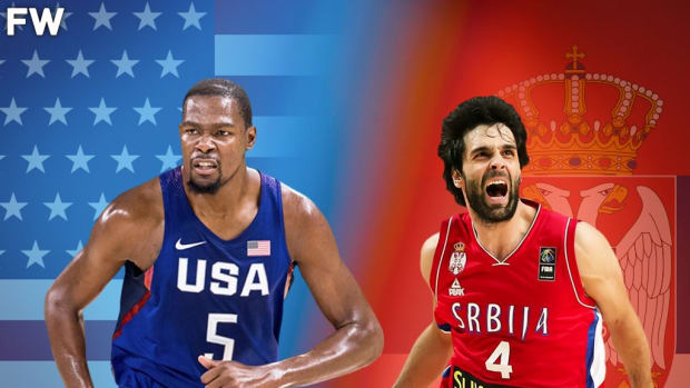"""Kevin Durant On Milos Teodosic: """"The Best Passer I've Ever Been On The Same Court With"""""""