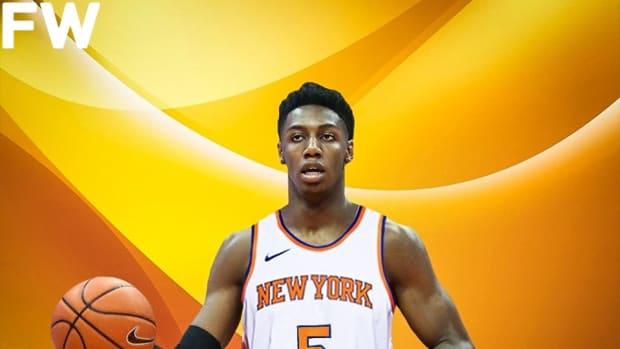 NBA Draft: New York Knicks Select RJ Barrett With The Third Overall Pick