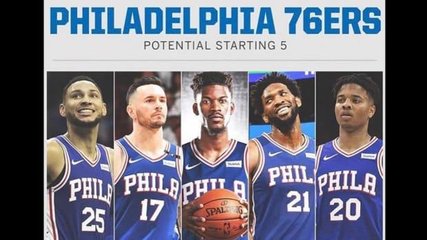 Philadelphia Sixers Jimmy Butler 1
