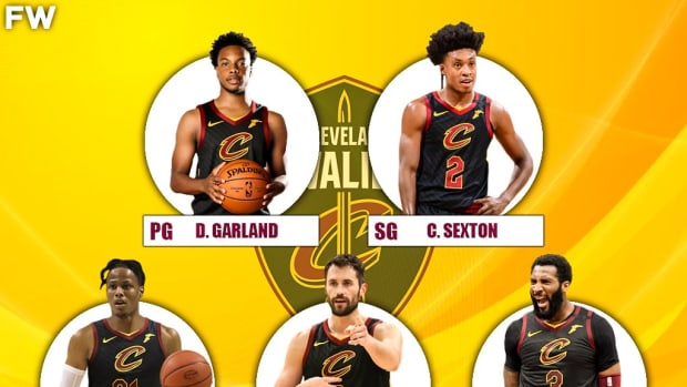 The 2020-21 Projected Starting Lineup For The Cleveland Cavaliers