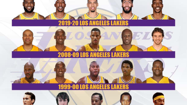 Ranking The Top 10 Greatest Lakers Teams In NBA History