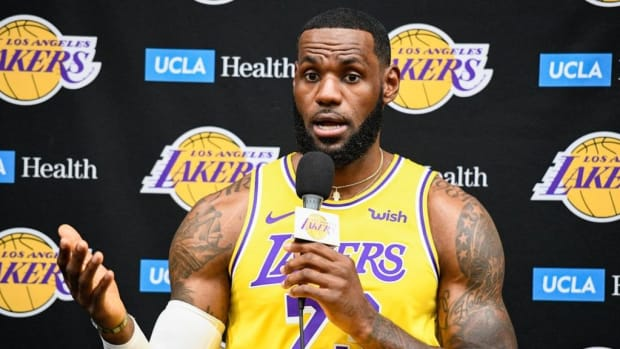 LeBron James: 'What More You Want From US?'