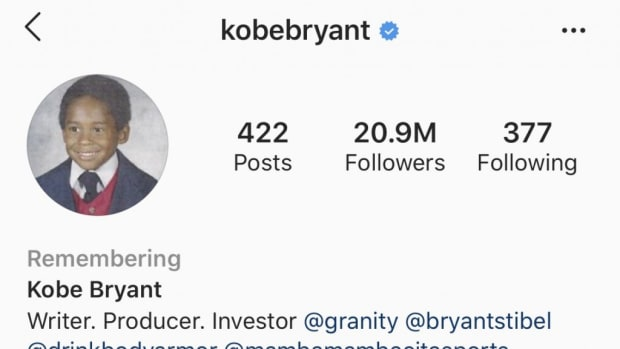 Kobe Bryant's Instagram Page Has Been Updated To 'Remembering Kobe Bryant'