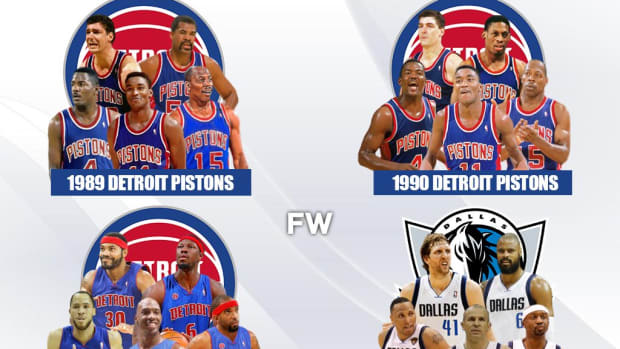 Ranking The Only Teams In NBA History To Win A Title Without A Player Making The All-NBA First Team