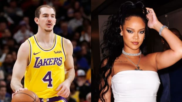 """Alex Caruso Vows To Dap Up Rihanna """"For The Culture"""" At The Next Lakers Game"""